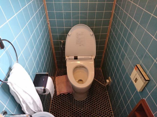 既設タンクレストイレ