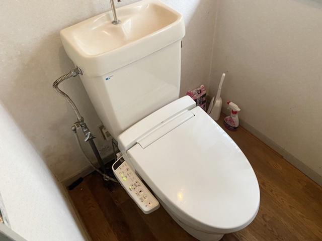 既設のトイレ&ウォシュレット