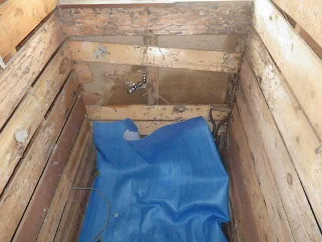 揖斐郡大野町 トイレリフォーム 便器、段差、壁撤去